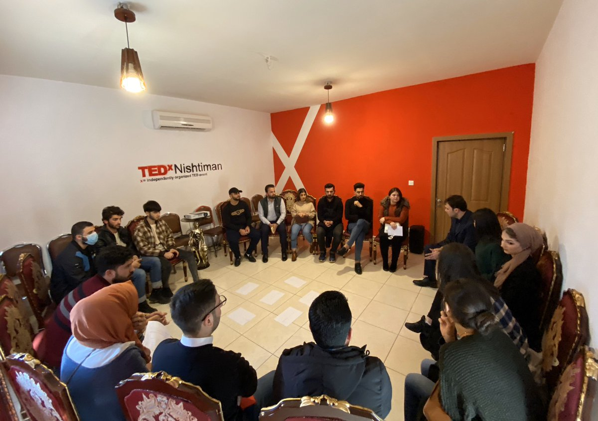 Today at @NishtimanYN #NYN HQ #Erbil we had a very productive meeting about the #TEDxNishtiman2020  We created a business plan for upcoming 2/3 months.  We found 12 ideas based on our survey in #KRI #Iraq  Help us to find the best speakers. @TEDxNishtiman #TEDxNishtiman <br>http://pic.twitter.com/nHbGSyGr0i
