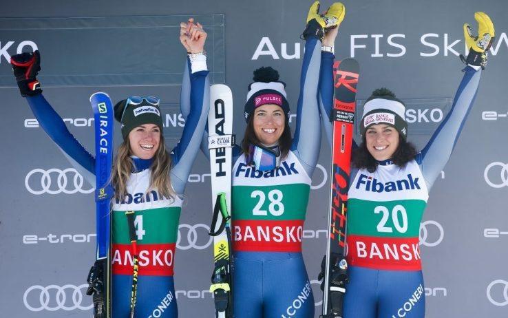 Ma allora le triplette non ci sono solo nel calcio...😄 Bravissime ragazze!!! 🙌 #ADP10 #Bansko @Fisiofficial #Curtoni  #Bassino #Brignone