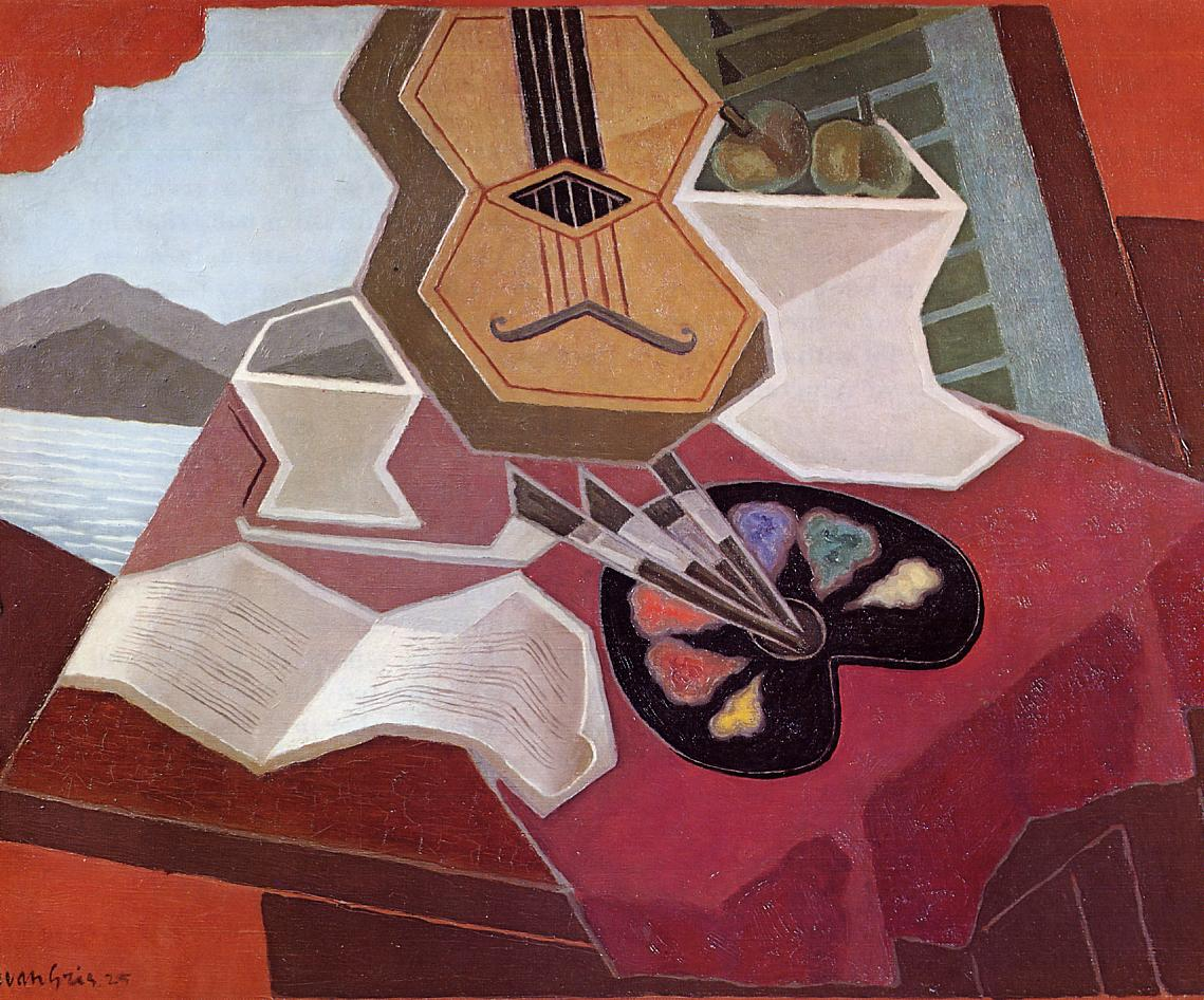 Table Overlooking the Sea, 1925  https://www. wikiart.org/en/juan-gris/t able-overlooking-the-sea-1925  …  #spanishart #juangris <br>http://pic.twitter.com/mniKGAigrK
