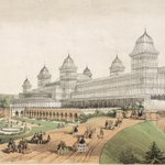 Image for the Tweet beginning: The #unbuilt Alexandra Palace design