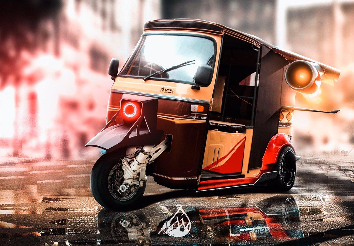 Always doing something crazy!  Today it was a key inspired rickshaw!  #Pakistani #art #carporn #rickshaw #rickshawali #rickshaws #pakistanistreetstyle #pakistanifashion #islamabadians #lahorefashion #lahorestreetstyle #cardesign #cardesigndaily #cardesignworld #cardesignsketchpic.twitter.com/LdtqDsq9KN