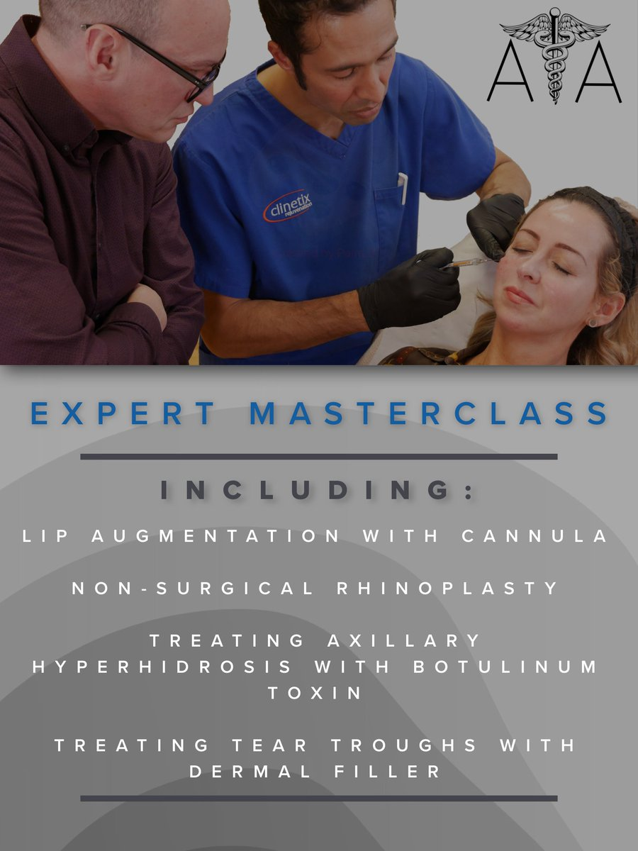 test Twitter Media - At ATA, we run a number of expert masterclasses to further your knowledge & professional development. Our range of masterclasses are aimed at delegates with experience in Dermal Filler & Botulinum Toxin & focus on specific treatments or areas of the face.  https://t.co/MZ5CXB7fnL https://t.co/Xy147ZrTae