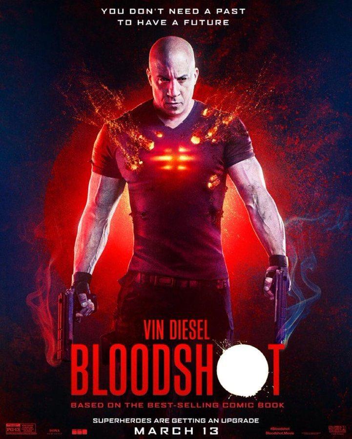 13 Mart'ta vizyona girecek Vin Diesel'lı #Bloodshot filminin afişi yayınlandı.