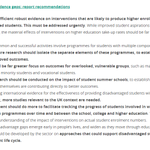 Image for the Tweet beginning: Widening access to higher education