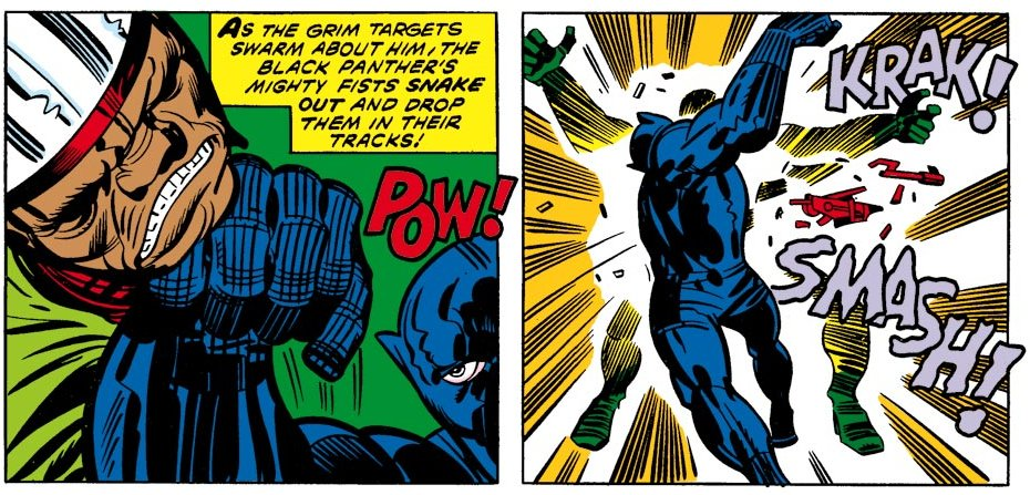 Black Panther #1 1977 https://t.co/UMmOVWEHcL