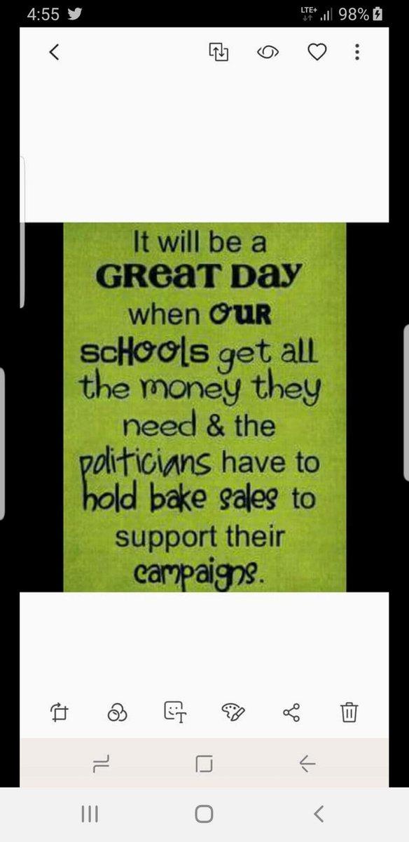 @PeterSchorschFL @HillsboroughCTA @baxter_jenkins @JamesGrantFL @JanelleIrwinFL ■ BAKE SALES FOR POLS! ■