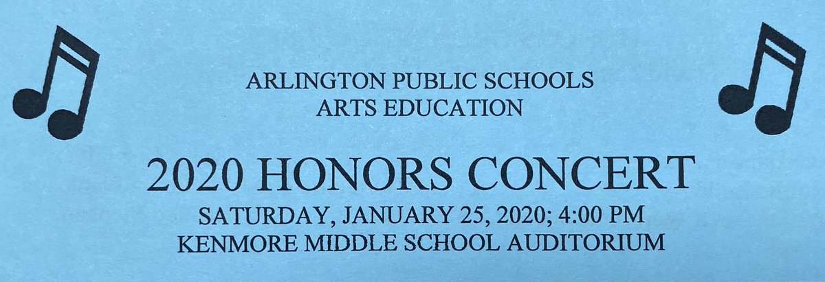Today is the day, the 2020 Chorus, Band, Orchestra Honors Music Concert!! <a target='_blank' href='http://twitter.com/APSArts'>@APSArts</a> <a target='_blank' href='http://twitter.com/APSVirginia'>@APSVirginia</a> <a target='_blank' href='http://search.twitter.com/search?q=apsartsamazing'><a target='_blank' href='https://twitter.com/hashtag/apsartsamazing?src=hash'>#apsartsamazing</a></a> <a target='_blank' href='http://search.twitter.com/search?q=apshonorsmusic'><a target='_blank' href='https://twitter.com/hashtag/apshonorsmusic?src=hash'>#apshonorsmusic</a></a> <a target='_blank' href='http://search.twitter.com/search?q=aps'><a target='_blank' href='https://twitter.com/hashtag/aps?src=hash'>#aps</a></a> <a target='_blank' href='http://search.twitter.com/search?q=music'><a target='_blank' href='https://twitter.com/hashtag/music?src=hash'>#music</a></a> <a target='_blank' href='http://search.twitter.com/search?q=apscelebratearts'><a target='_blank' href='https://twitter.com/hashtag/apscelebratearts?src=hash'>#apscelebratearts</a></a> <a target='_blank' href='https://t.co/V5LN6MYv0t'>https://t.co/V5LN6MYv0t</a>