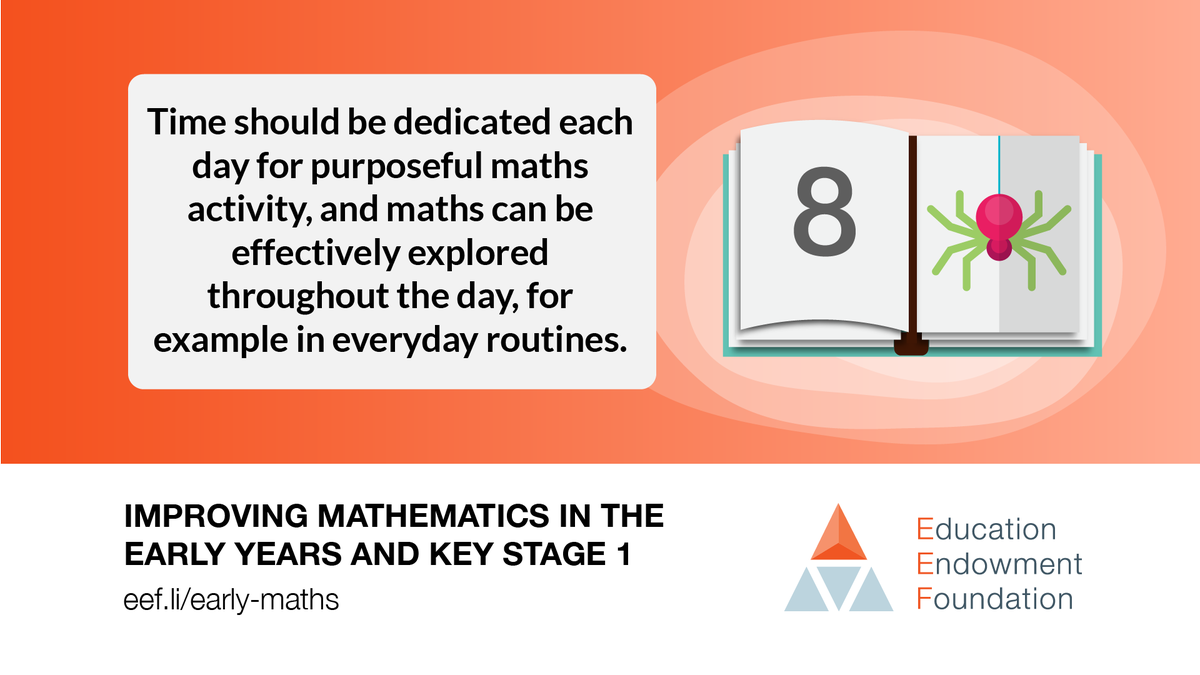 Have you had a chance to look at this new Maths Guidance Report from @EducEndowFoundn