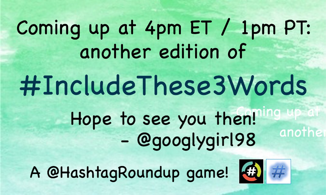 Let's see some more #IJumpedToWarpSpeed tweets with @SciFiTags! Then please join me at the top of the hour for #IncludeThese3Words!  Both games powered by @HashtagRoundup and @TheHashtagGame!