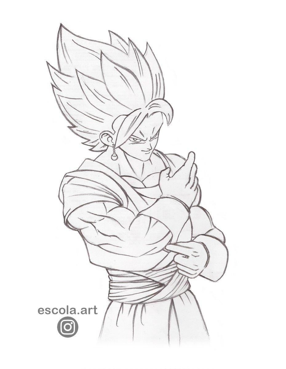Vegetto Follow me #vegetto #vegito #draw #drawing #ilustration #sketch #sketching #SaiyanRangers #DragonBall #DragonBallSuper #DragonBallZ #DragonBallGT #DragonBallKai #Anime #Manga #DBZ #Goku #Vegeta #Kamehameha #Gohan #SuperSaiyan #SuperSaiyanGod #AkiraToriyama #SuperSaiyanBluepic.twitter.com/QRVtW3UvTO