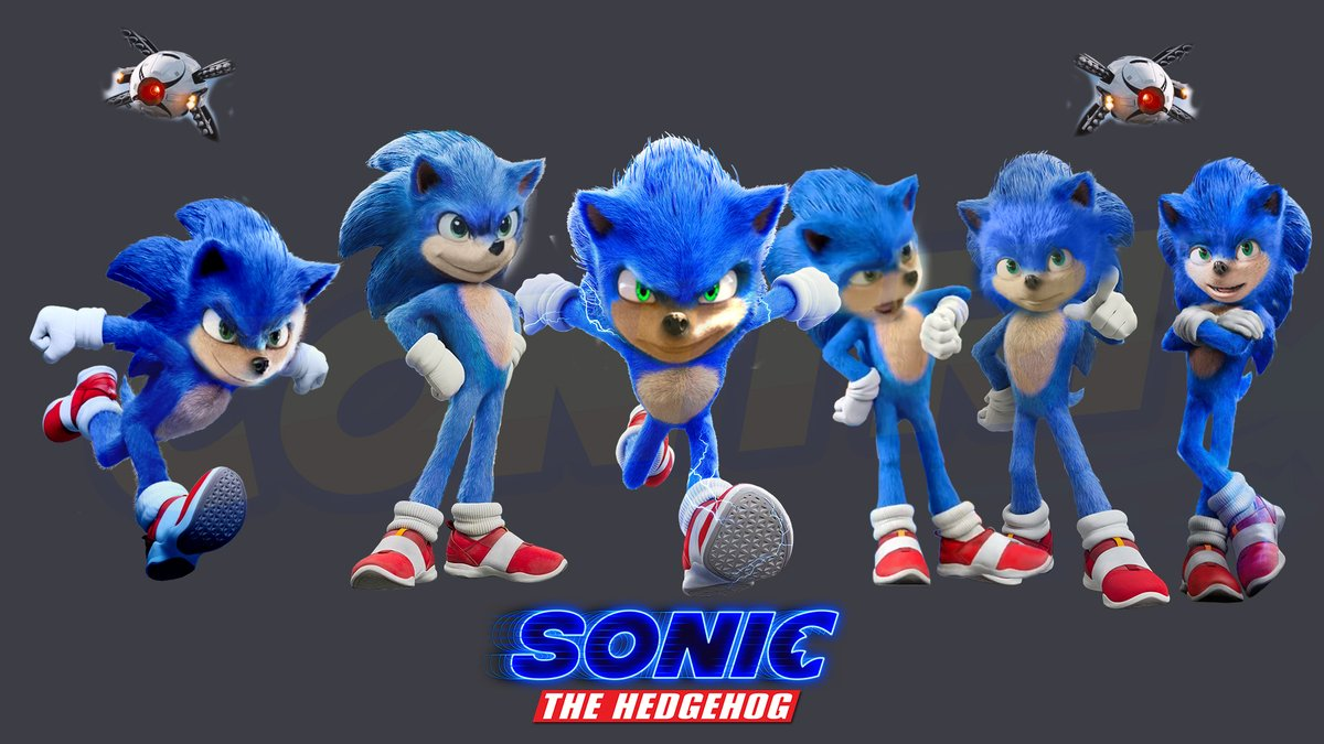 My mind: why did I do this? Also me: I have no idea :D #SonicMovie