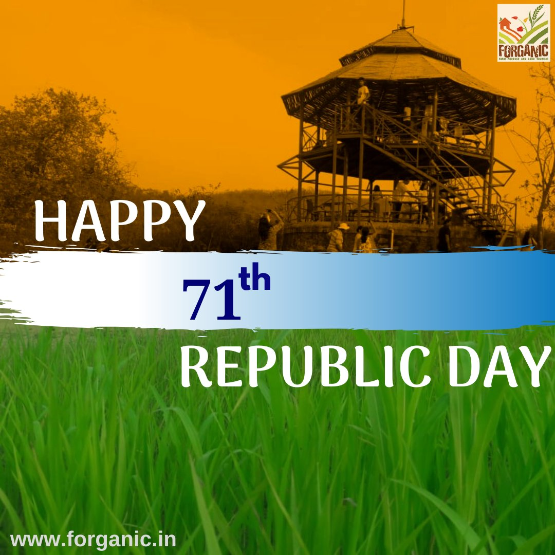 Always be proud that we are Indian because not everyone gets the privilege of being born in this great nation. Happy Republic Day 2020 https://t.co/nHkCBmHv2G . . #26jan #happyrepublicday #71republicdayofindia #forganicexperience #Forganic #Khopoli #republicday #india https://t.co/60uSIs0nlI