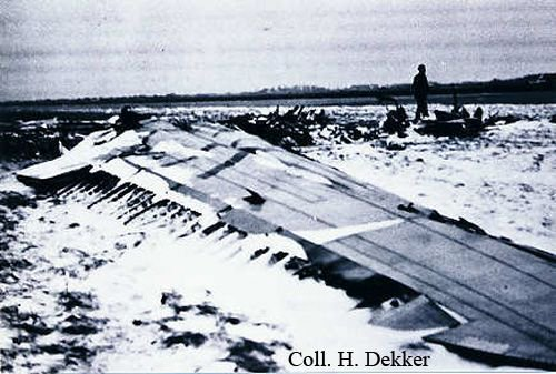 #OTD in 1947: a KLM DC-3 crashes after take-off from Copenhagen (Denmark), killing all 22 on board, including Prince Gustaf Adolf, Duke of Västerbotten of Sweden. Probable cause: failure to remove the gust locks that had secured the aircraft's elevators while it was parked.