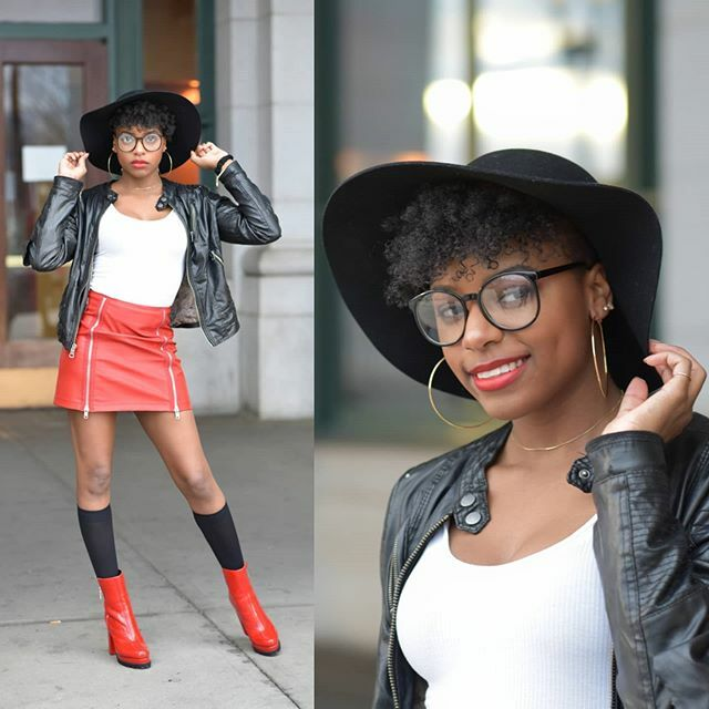 The #melanin is strong with this one. ☆ #dcart #dcmodel #dcfashion #dcfashiondesigner #modeling #streetfashion #redskirt #dimples #adorable #natural #redboots #leatherjacket #glassesfashion #blackhat #hoopearrings #blackgirlmagic #fatalframes #acreat… https://ift.tt/2Gkr3lnpic.twitter.com/spao6P3Kww