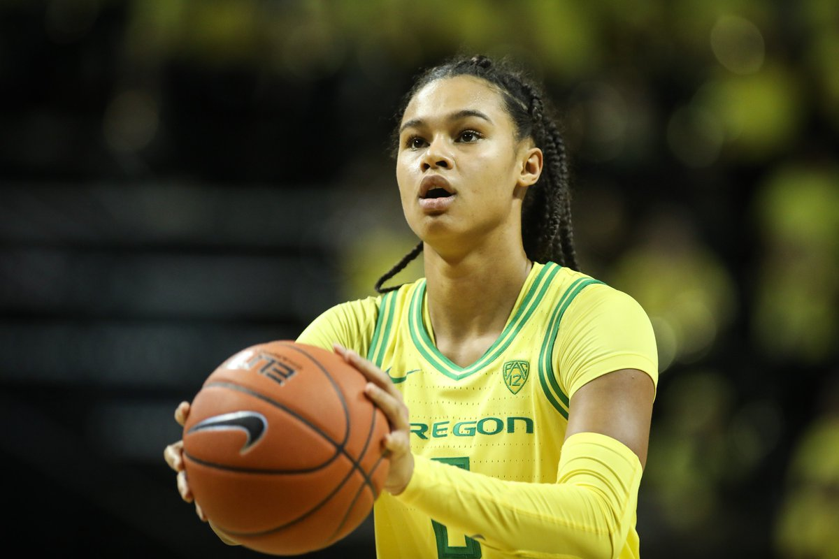 Deadly at the stripe.   Satou Sabally was a career-best 10-of-11 last night from the free-throw line, and she is 33-of-38 over the last four games   #GoDucks | @BallySatou<br>http://pic.twitter.com/7s3tKsFYQO