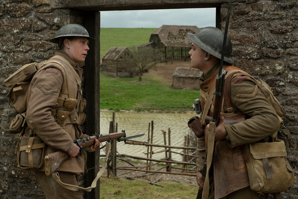 #1917 is as thrilling as we were lead to believe.  A #movie to see. #Review: http://bit.ly/Film1917    #criticschoice #SamMendes #GoldenGlobes  #cinema #movie #film #GeorgeMacKay #SamMendes #DeanCharlesChapman #DanielMays #ColinFirth #BenedictCumberbatch #AndrewScott #WWIpic.twitter.com/h0thd6p6IG