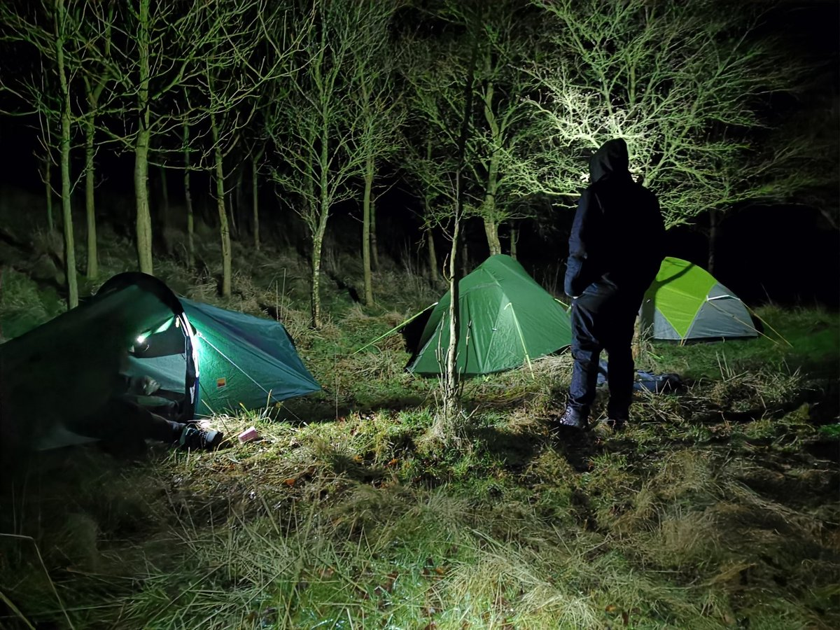 Daz Speck On Twitter Wild Camping In The Yorkshire Dales Cold Wet And Misty The Perfect Camp Wildcamping Yorkshiredales Camping