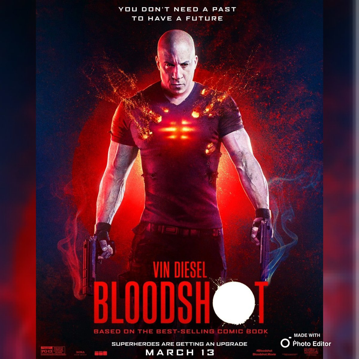A little late but here are the 2 new Bloodshot posters for the new @valiantentertainment movie starring @vindiesel   #poster #art #movie #vindiesel #fastandfurious #riddick #comics #comic #bloodshot #film #march #booktoscreen