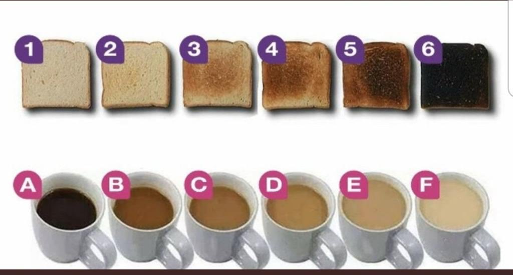 4A is only acceptable answer. And non-Kuerig plus good old fashioned butter on that bread.