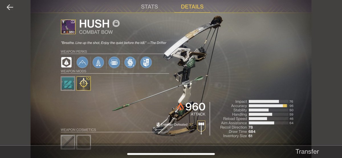 I now have every gambit weapon in the game. #bread #gambit #bungie #destiny2 #destiny2ps4 #destinythegame #ps4pic.twitter.com/lyzVCXtefU
