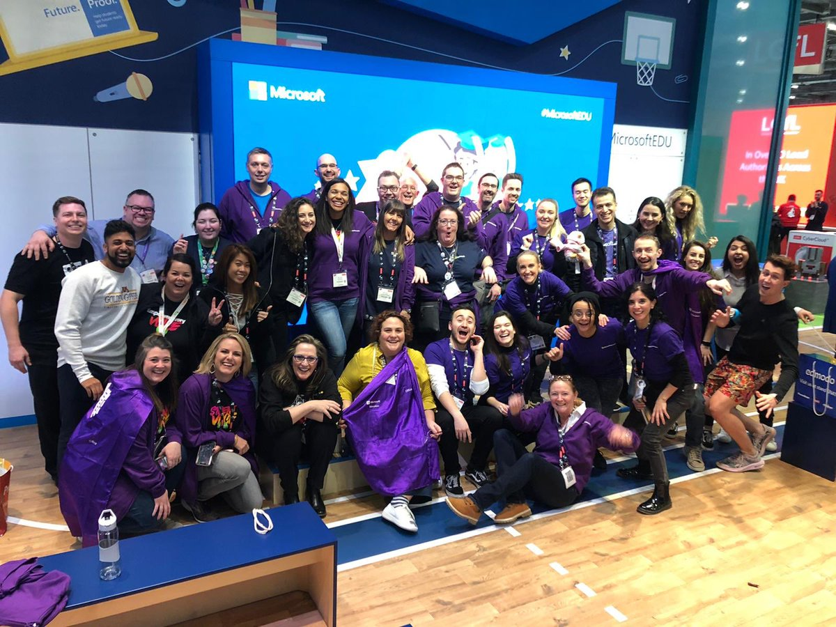That's it for #Bett2020 - what an amazing week with #MicrosoftEDU! The #MIEE community is awesome!