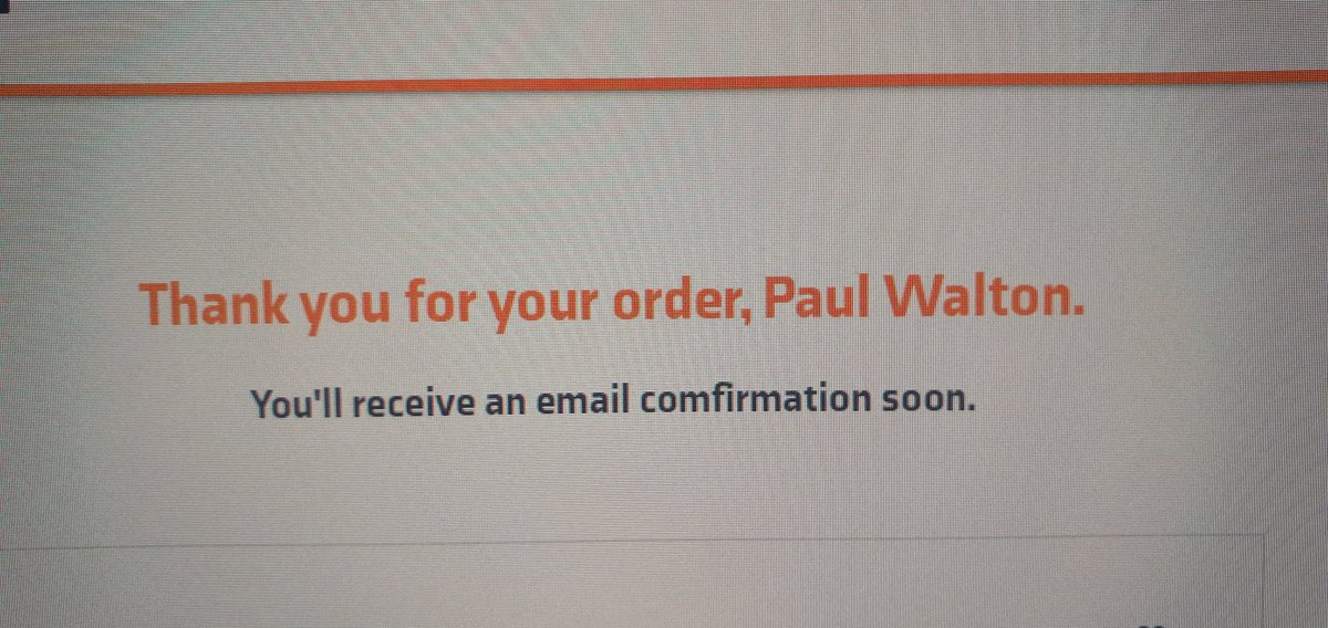 The wait begins. 6 weeks isn't that long right?????   @YourWearYourWay #Abruzzi