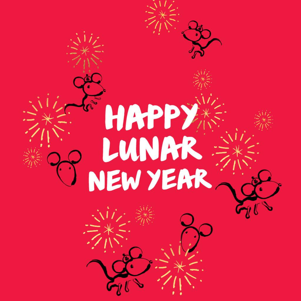 Happy Lunar New Year! Wishing you a wonderful year of peace and prosperity!
