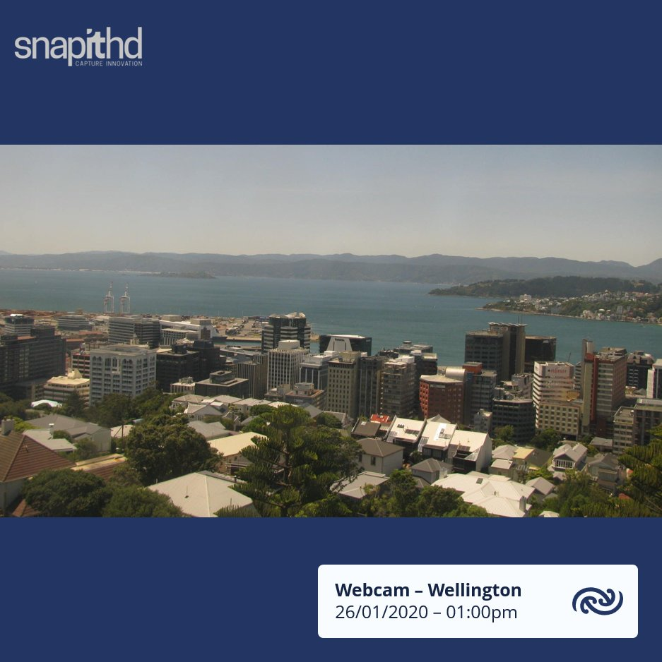Sunny weather dominating much of the country at the moment. The Capital is up to 23C, and the Hutt Valley is around 28.4C at 1pm. That makes it one of the warmest places in New Zealand right now, 1C less than Rarotonga. ^KL https://t.co/lHqicrzALa