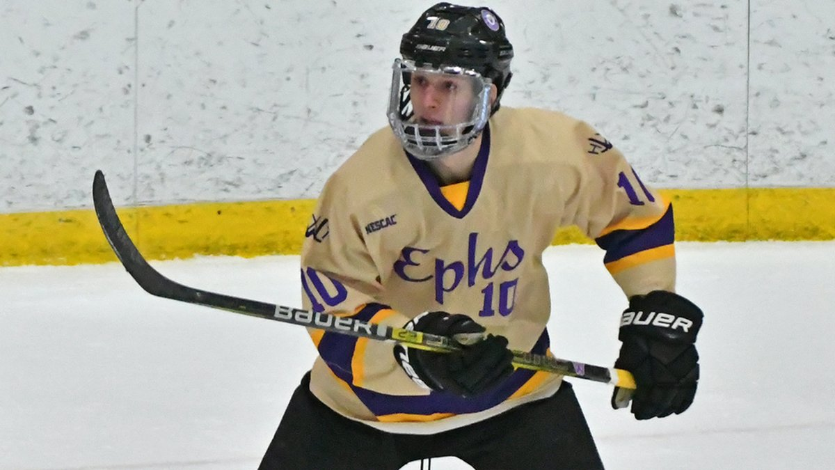 Jack Forrest's Hat Trick Powers Ephs Past Bowdoin and Into First Place in NESCAC -