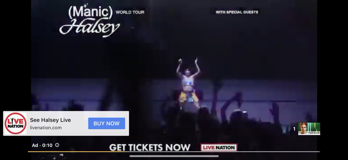 YouTube giving me manic tour ads as if I don't already have tickets to five dates <br>http://pic.twitter.com/G29OHgWKcd
