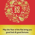 Image for the Tweet beginning: Happy Lunar new year from