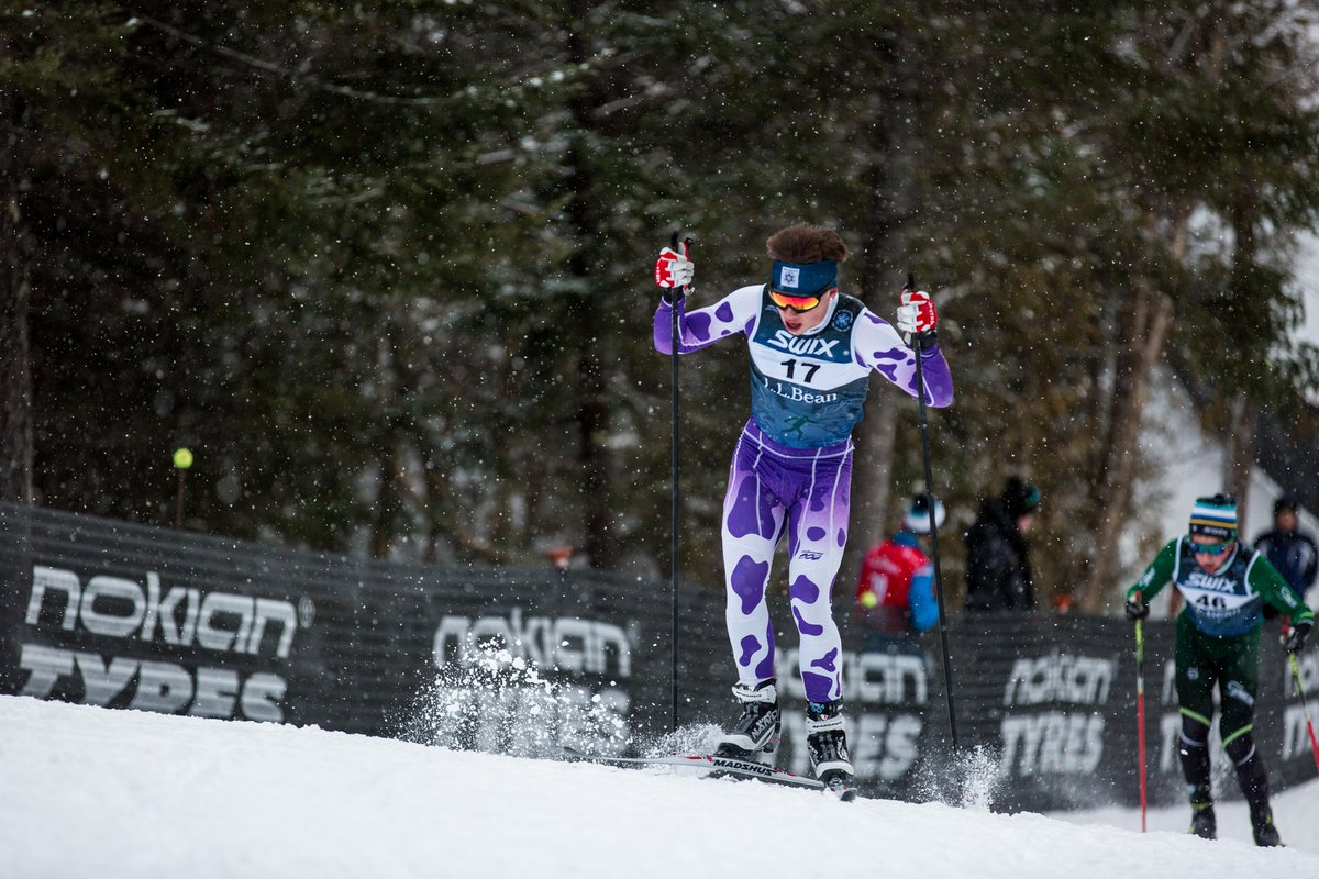 Eph Nordic Team Posts Strong effort on Day 2 at UVM Carnival. Isaac Freitas-Eagan Finishes 4th in the 10k Skate Race -
