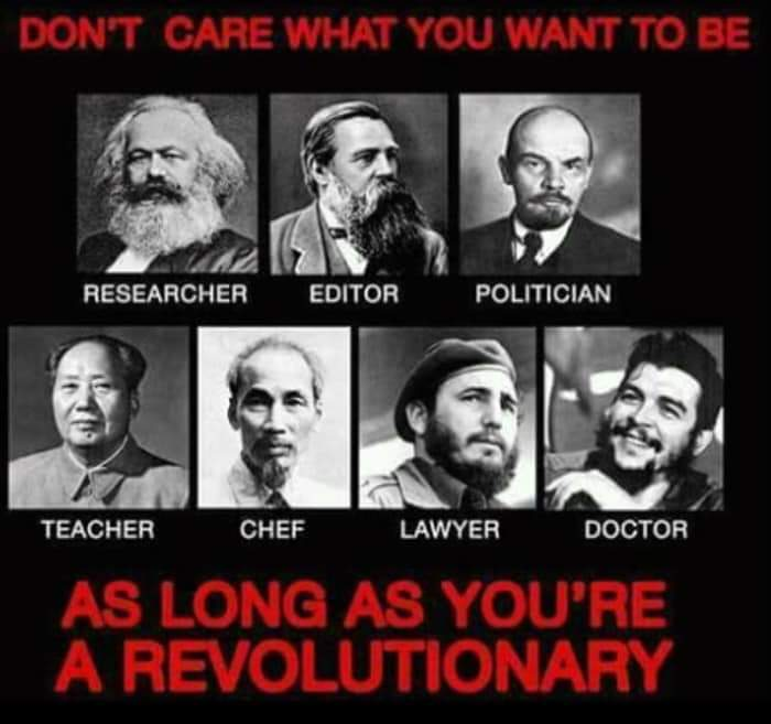 'We don't care what you want to be' -  As long as you're a #Revolutionary!pic.twitter.com/EipoxBqpTk