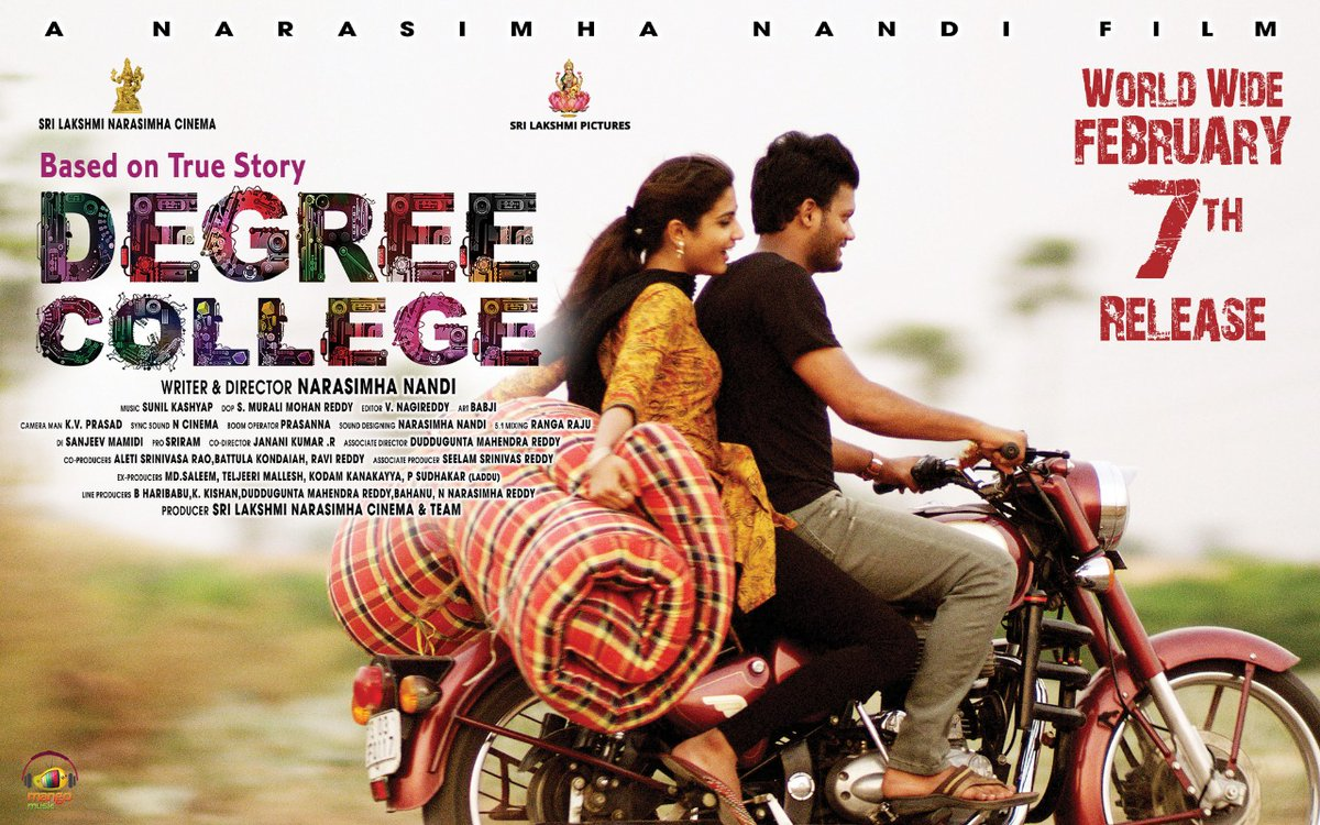 #RepublicDay Wishes from team #DegreeCollege team. #DegreeCollege in cinemas from Feb 7th, 2020!  *ng: #Varun #DivyaRao Directed by #NarasimhaNandi Produced by #SriLakshmiNarasimhaCinema Music by #SunilKashyap  #DegreeCollegeFromFeb7 #RepublicDay2020 #JaiHind #RepublicDaywishes