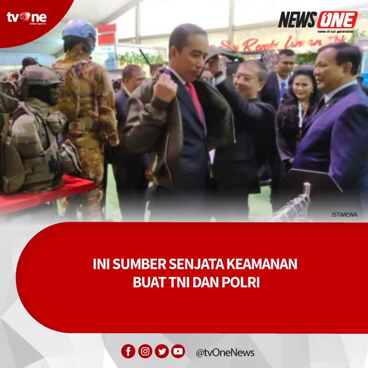 Direktur Utama PT Jala Berikat Nusantara Perkasa JBNP Subiyono mengatakan, mendukung pemerintahan Joko Widodo untuk mengembangkan industri pertahanan dan keamanan dalam negeri. Baca selengkapnya klik http://bit.ly/2vfmqqf#tvOneNews #NewsOne #Vivanews #TNIPOLRI