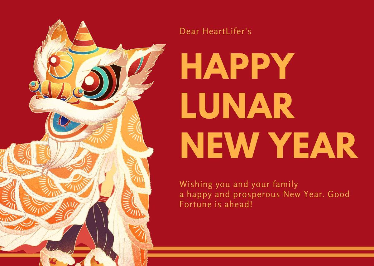 Happy Lunar New Year from us to you! #LunarNewYear