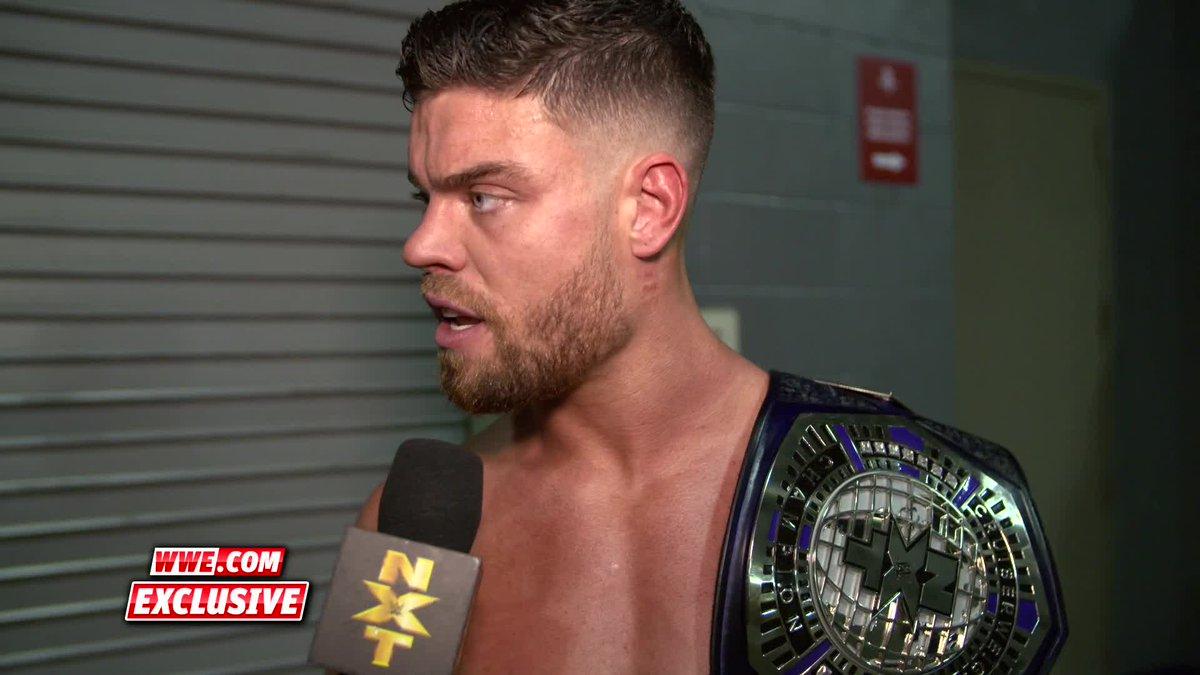 The #NXTCruiserweightTitle now belongs to #NXTUK's @Jordan_Devlin1 after #WorldsCollide...things just got REAL interesting!#WWENXT