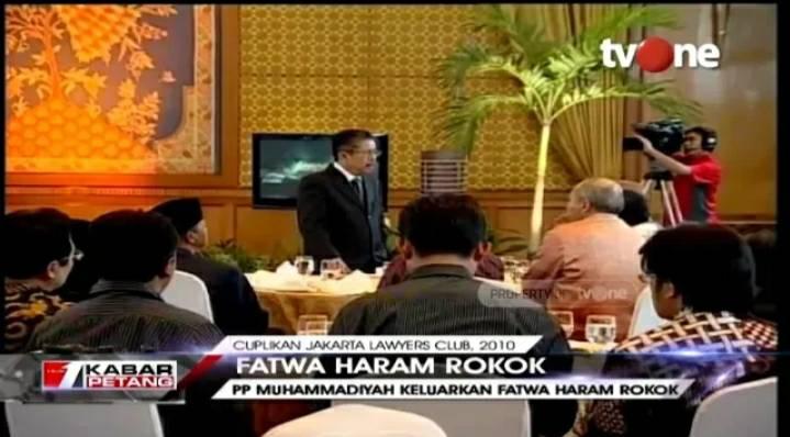Sebelum Keluarkan Fatwa Vape Haram, Muhammadiyah telah Haramkan Rokok Sejak 2010 https://bit.ly/37tjJzK. Dapatkan video berita lainnya di YouTube channel tvOneNews. #tvOneNews