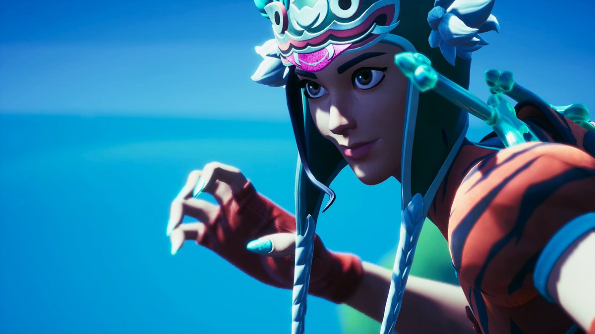Here's some tiger girl screenies  #Fortnite #fortnitephotography pic.twitter.com/mI0aFpbZuP