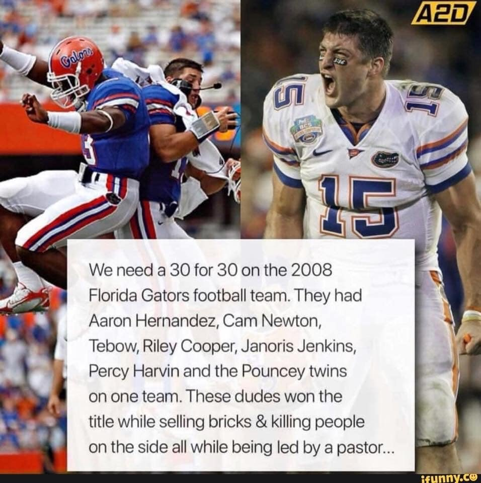 "Jack McGuire on Twitter: ""Never forget the 2008 Florida Football ..."