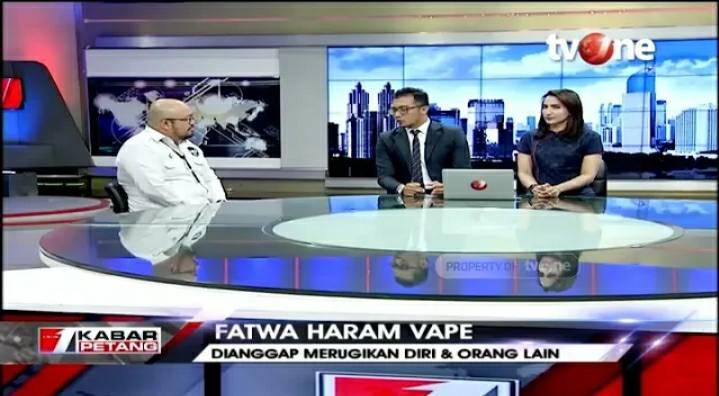 Dialog tvOne: Fatwa Haram Vape bersama PP Muhammadiyah dan Ketum Asosiasi Vape Indonesia (25/1/2020) https://bit.ly/37Ehnhi. Dapatkan video berita lainnya di YouTube channel tvOneNews. #tvOneNews