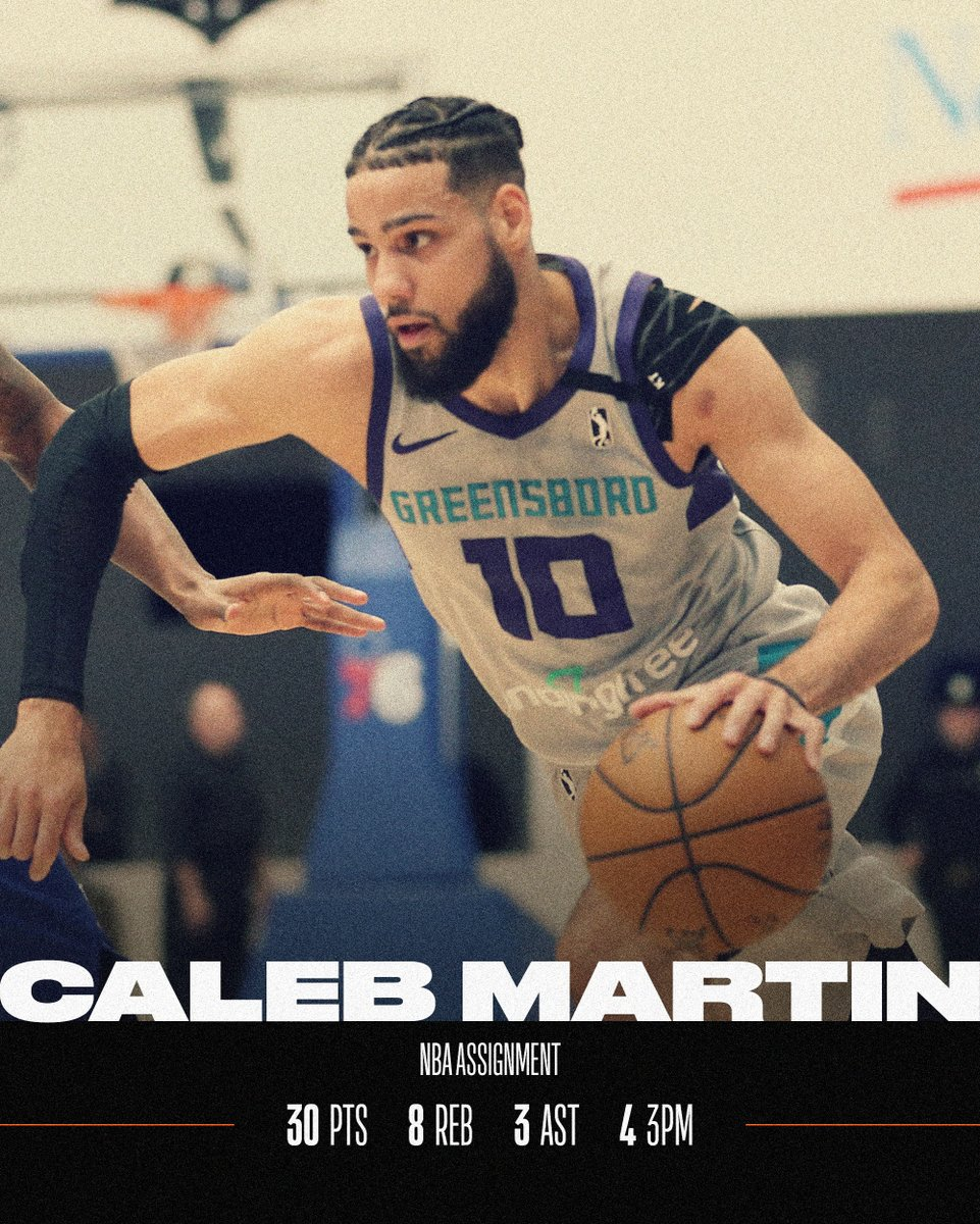 4 of the top performances from Saturday's #NBAGLeague action 👏  @Calebmartin14   @simon_Says_so   Stephan Hicks   @xrm_22