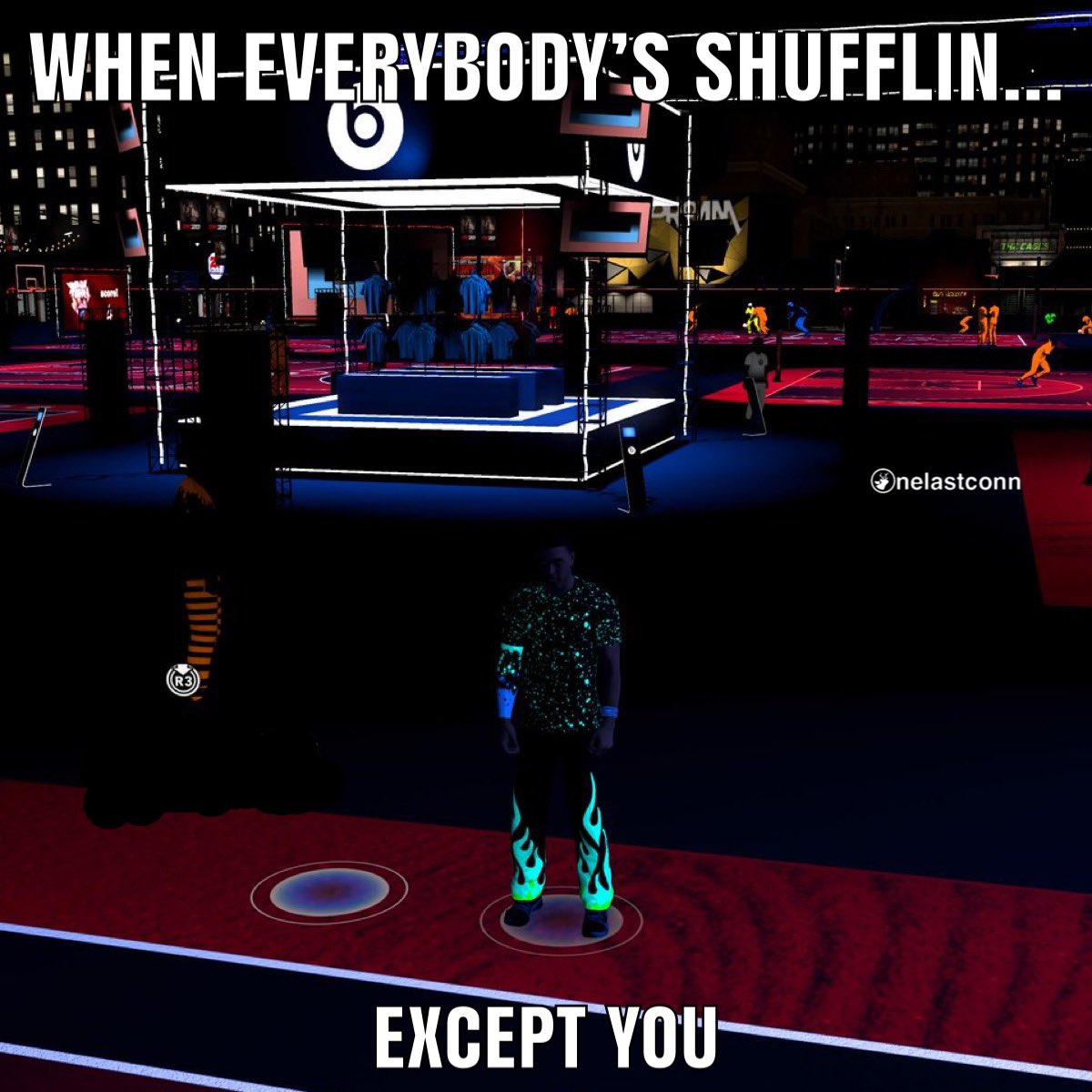 #beatsatnight #beats #nba #nba2k20 #2k20 #playstation #ps4 #playstation4 #gaming #gamer #gamers #game #ballislife #basketball #basketballmemes #gamememes #2k #2ksports #blacklight #neighborhood #gamerlife #shuffle #gamerguy #meme #memes #memesdaily #dankmemes #memes#memepagepic.twitter.com/VeCTJbOLBS