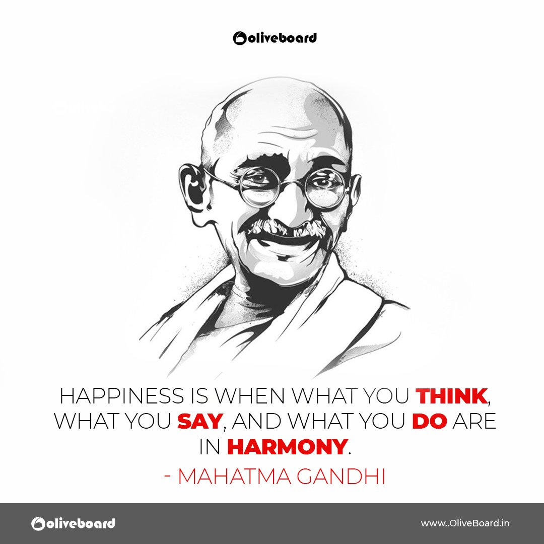 Quote of the Day  #Oliveboard #quote #quoteoftheday #motivational #inspirational #thoughtoftheday #staypositive #inspiration #happinessquotes #beingpositive #lifequotes #wordgasm #Gandhiji #MahatmaGandhi <br>http://pic.twitter.com/Zo9KsRjRV5