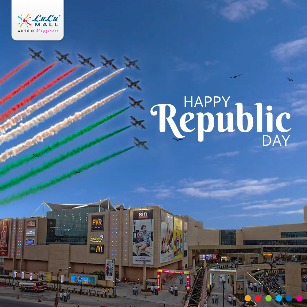 Let's celebrate today with peace and pride in our hearts and mind! We wish you a very happy #RepublicDay! #LuLuMall #Kochipic.twitter.com/deCvflgzNd