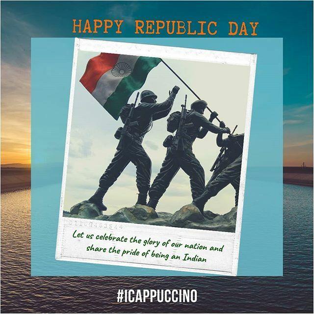 #happyrepublicday  #ianantaggarwal #icappuccino  #indianfood #indianwedding #indianblogger #indiapictures #india_everyday #indianwear #indianfashion #indiancricket #indianarmy #indianmovies #indianoutfit #indianjokes #indianethnic #indiandance #indiansum… https://ift.tt/37Dw7xjpic.twitter.com/198BcZacQC