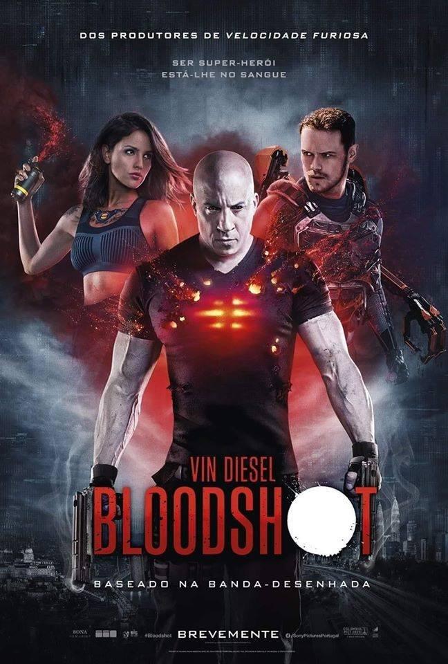 Nuevos pósters oficiales para Latinoamérica y Estados Unidos de #BloodShot.  La película es protagonizada por Vin Diesel, Eiza González y Sam Heughan.  #Cinéfilos #Noticias #News #Movie #VinDiesel #EizaGonzález #SamHeughan #Pósters