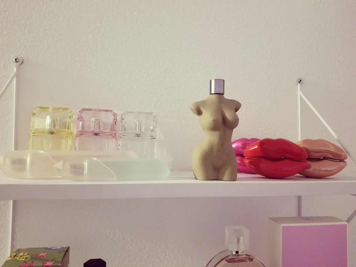 The @kkwfragrance  section of my perfume shelf 🥰