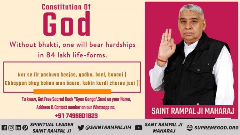 #Constitution_Of_SupremeGod Feticide is a great sin in Gods constitution. Saint Rampal Ji Maharaj परमेश्वर का संविधान