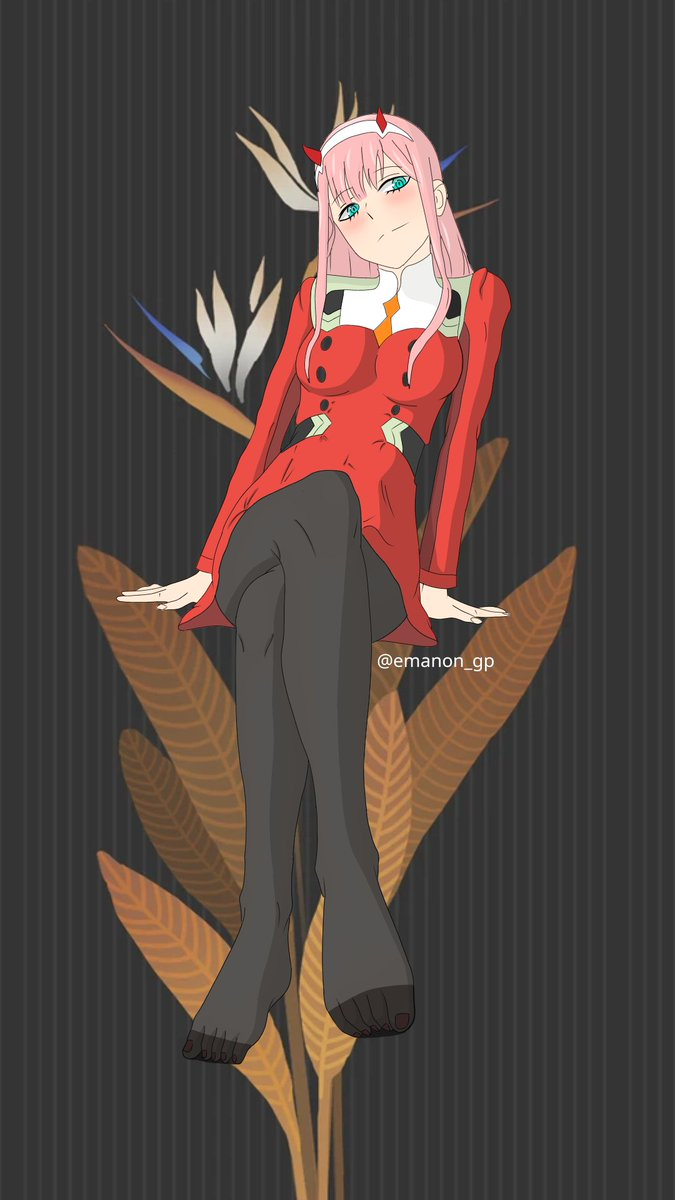with or without stockings ??   whatever, she always looks beautiful!! #anime #loveanime #darling_in_the_franxx #DarlinginthefranXX #zerotwo #fanartpic.twitter.com/dz1OoEnGoZ
